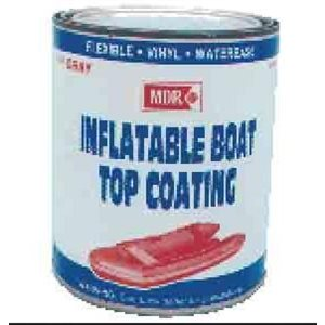 Inflatable Boat top coat paint light grey