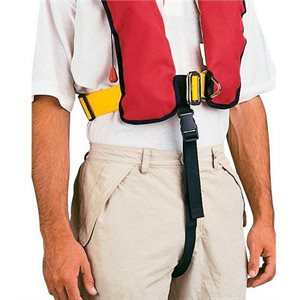 Plastimo life vest crotch strap for inflatable life jacket.