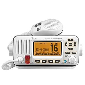 VHF DSC with GPS white