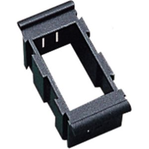 Rocker switch bracket center