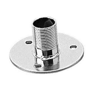 "Antenna base fixed 1-1 / 2""  x 3"" stainless"