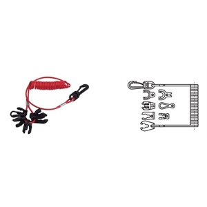 7 Key kill switch with lanyard
