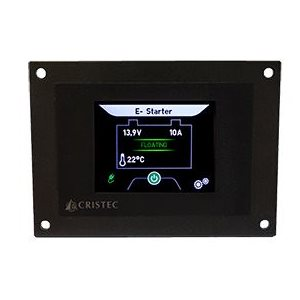 Cristec control panel display for YPOWER battery chargers