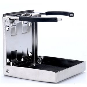 Drink holder folding stainless