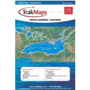 Bay of Quinte: Trenton - Kingston TrakMaps