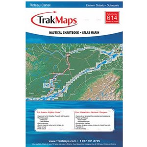 Rideau Canal: Kingston - Ottawa Trakmaps