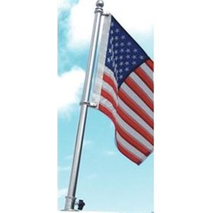 Stainless flag pole kit 30""