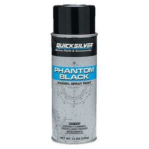 Quicksilver phanton black enamel spray
