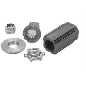 Flo-Torq III hub kit Mercury / Mariner 40-60 hp Bigfoot and 90-115 hp four-stroke outboards.