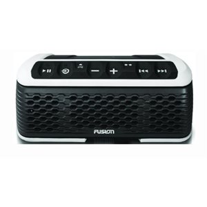 "Fusion bluetooth AM / FM tuner with speaker USB 9.3"" x 3.25"" x 5.5"""