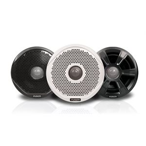 "Fusion 6"" 200W 2 way speakers with 3 grill option"