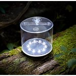 Luci Outdoor 2.0 inflatable solar light ' clear with straps