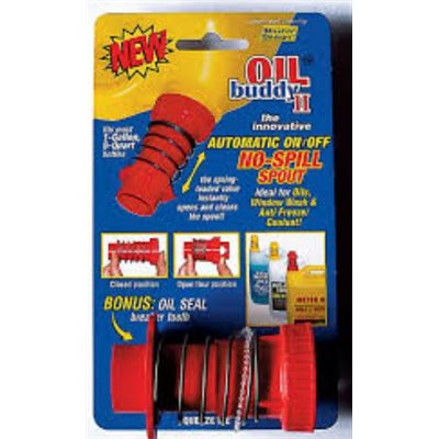 Oil buddy spout gallon