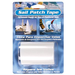 "Sail patch tape clear  3""  X 15'"