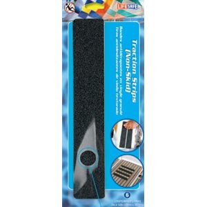 "Anti slip strips black 2"" X 12"" (6)"