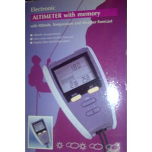 Speedtech altimeter and barometer