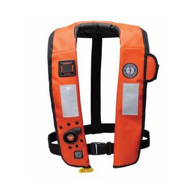 Mustang inflatable PFD automatic hydrostatic heavy duty