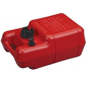 "Gas tank 6 gallons portable 20.5"" x 13"" x 10"""