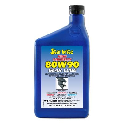 Lower unit gear lube 80W90  950ml