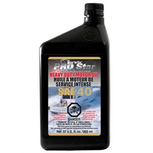 Star Brite Pro Star super premium heavy duty motor oil SAE 40