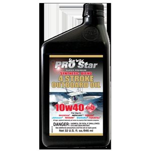 Star Brite 4 Stroke Synthetic Outboard Oil 10W40