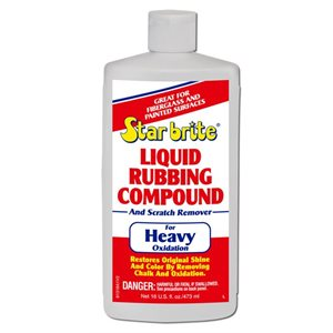 Liquid rubbing compound for heavy oxidation 473 ml