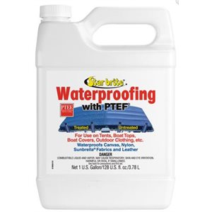 Marine fabric waterproofing with PTEF  1 gallon