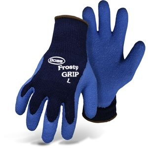 Frosty grip gloves