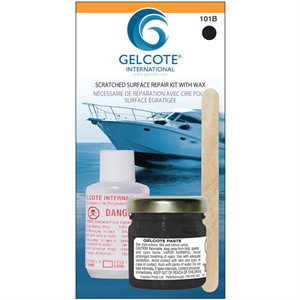 Gelcoat repair kit.black  1oz