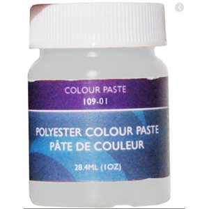 Gelcoat color paste white 1oz.