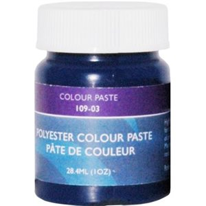 Gelcoat color paste blue 1oz.