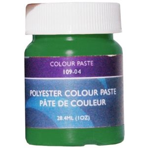Gelcoat color paste dark green 1oz.