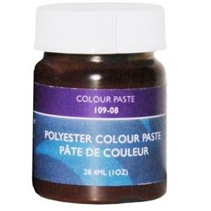Gelcoat color paste dark brown 1oz.