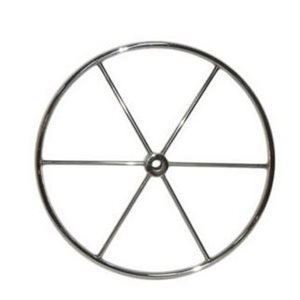 "Wheel  1"" bore 30"" stainless"