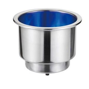 Can holder with blue LED 2-5 / 8'' dia.x 3""