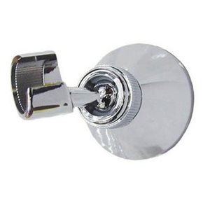 Support de douche chrome  /  ABS