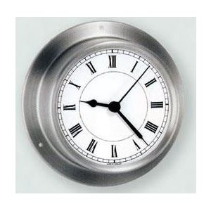 "Clock 3 1 / 2""  stainless"