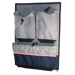 "Cabin bag 3 compartments  18-7 / 8"" x 13-3 / 8"""