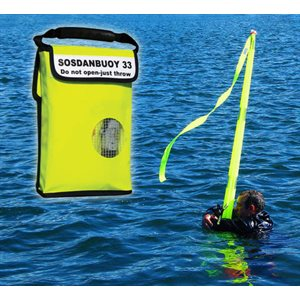 Danbuoy S.O.S. man over over board marker
