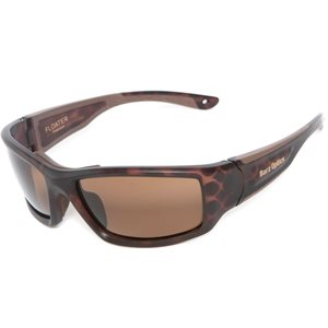 Barz Floater sunglasses AC Polarized tortoise shell  frame amber lenses