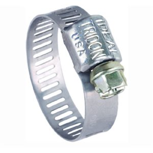 "Hose clamp min 1 / 4"" max 5 / 8"" all stainless"