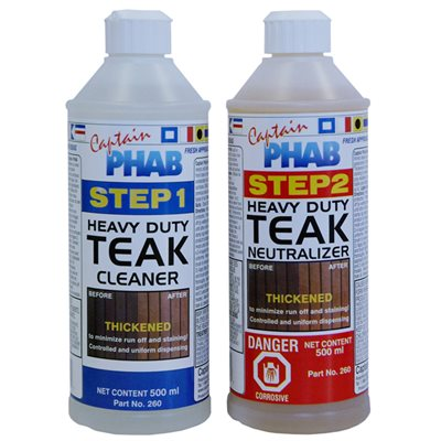 Teak cleaning kit
