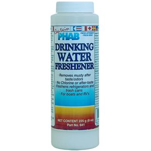 Drinking water freshner 225 g container (6 oz)