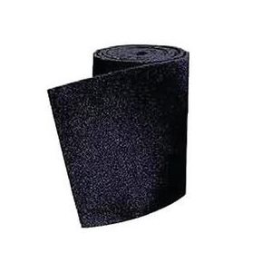 "Bunk board carpet 11"" x 12' black"
