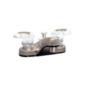 Faucet with diverter brushed nickel