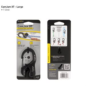 Camjam Xt aluminum cord tightener with cord
