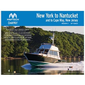 Chartkit #3 New York to Nantucket & to Cape May