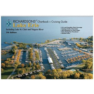 Richardsons lake Erie chart book and cruising guide