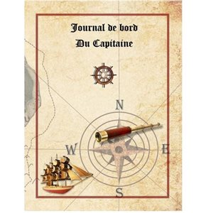 Journal de Bord du Capitaine voile  145 pages