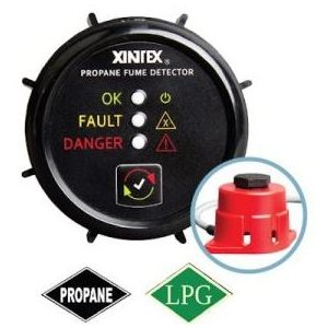 Propane detector with sensor 9-30 V DC 1 channel